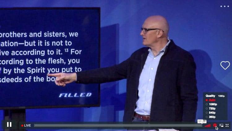 Church Online Quality Screen
